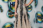 Rainey Qualley Beaded Dress