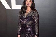 Olivia Munn Embellished Top