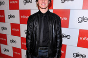 Jonathan Groff Leather Jacket