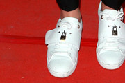 Adele Exarchopoulos Leather Sneakers