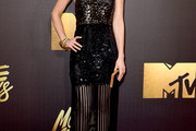 Lizzy Caplan Sequin Dress