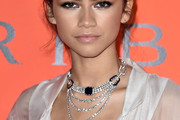 Zendaya Coleman Diamond Statement Necklace