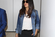 Salma Hayek Denim Jacket