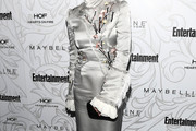 Taryn Manning Embroidered Dress