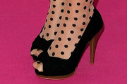 Lena Peep Toe Pumps