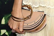 Sienna Miller Leather Clutch