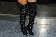 Beyonce Knowles Over the Knee Boots