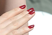 Jessica Chastain Red Nail Polish
