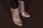 Heather Mitts Ankle Boots
