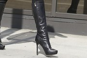 Brittny Gastineau Knee High Boots