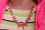 Whitney Vance Gemstone Statement Necklace