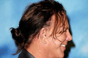 Mickey Rourke Messy Updo