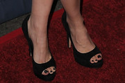 Summer Glau Platform Pumps