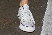 Troian Bellisario Canvas Sneakers