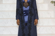Naomi Campbell Evening Coat