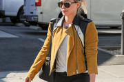 Hilary Duff Suede Jacket