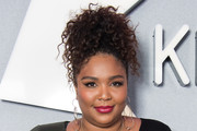 Lizzo Curly Updo