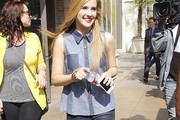 Caroline Sunshine Denim Shirt