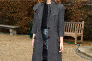 Natalie Portman Tweed Coat