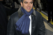 Buddy Valastro Patterned Scarf