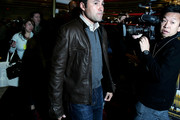 Oscar De La Hoya Leather Jacket