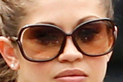 Danielle Fishel Oversized Sunglasses