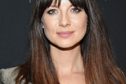 Caitriona Balfe Long Straight Cut with Bangs