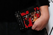 Busy Philipps Printed Clutch