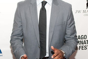 Anthony Mackie Dotted Tie