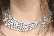 Scarlet Stallone Diamond Statement Necklace