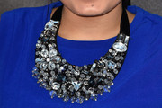 Kiana Lyz Rivera Gemstone Statement Necklace