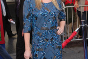 Ashley Jensen Print Dress