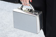 Danielle Panabaker Metallic Purse