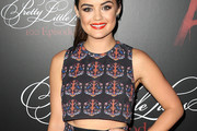 Lucy Hale Crop Top