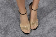 Shelley Hennig Studded Heels