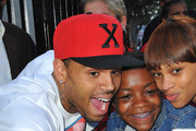 Chris Brown Custom Baseball Cap