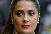 Salma Hayek Half Up Half Down