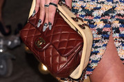 Lily Allen Quilted Leather Bag