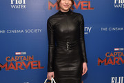 Sami Gayle Leather Dress