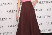 Jaime King Strapless Dress