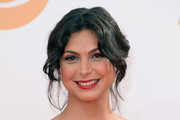 Morena Baccarin Bobby Pinned updo