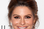 Maria Menounos Bobby Pinned updo