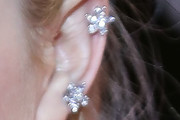 Dakota Fanning Diamond Studs