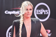 Lindsey Vonn Long Braided Hairstyle