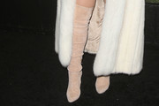 Bebe Rexha Over the Knee Boots