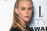Mary Charteris Long Partially Braided