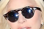 Lady Gaga Round Sunglasses