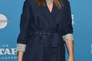 Milla Jovovich Wool Coat