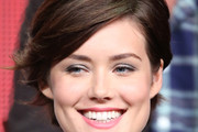 Megan Boone Short cut with bangs