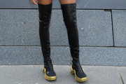 Willow Smith Over the Knee Boots